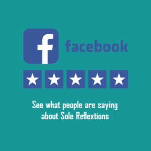 click to see our reflexology customers reviews on facebook