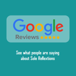 click to see our reflexology customers reviews on google